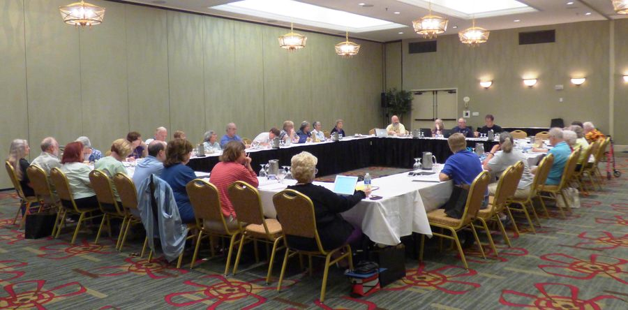 Tuesday morning Board of Directors meeting