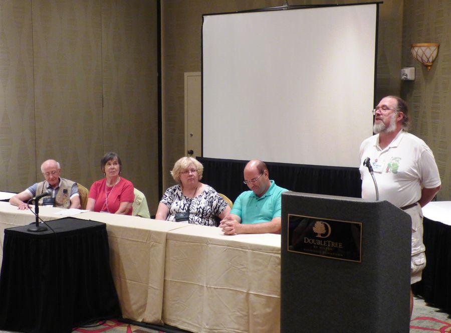 Jonathan Ertelt and the rhizome Growers Forum with panelists Ben Paternoster, Eileen McGrath, Irina Nicholson, Jay Sespico