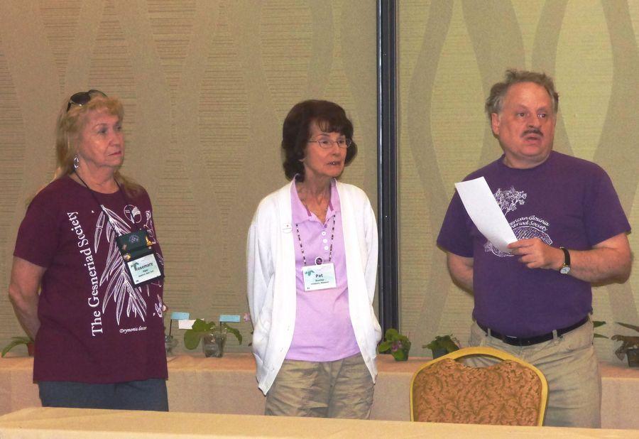 Team Rosemary Platz, Pat Dunlap, Wallace Wells