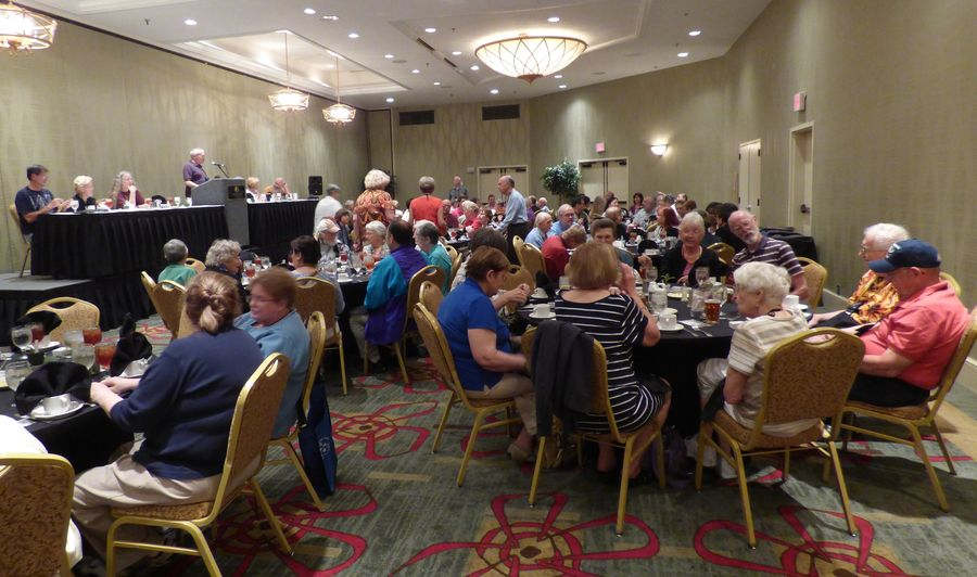 Attendees at the Annual Meeting and dinner