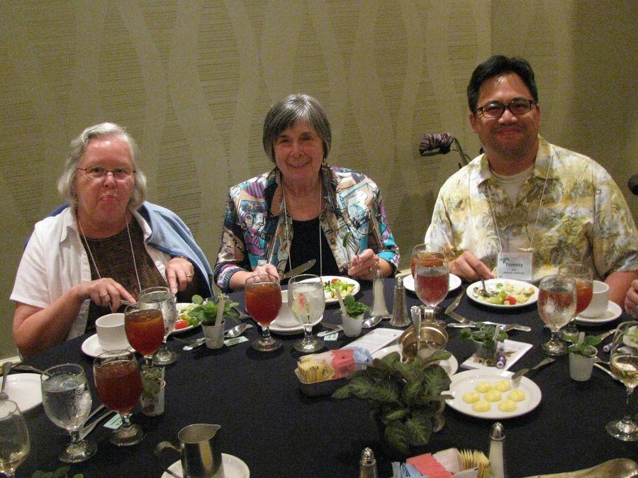 Karen Sproul, Eileen McGrath, Tommy Liu