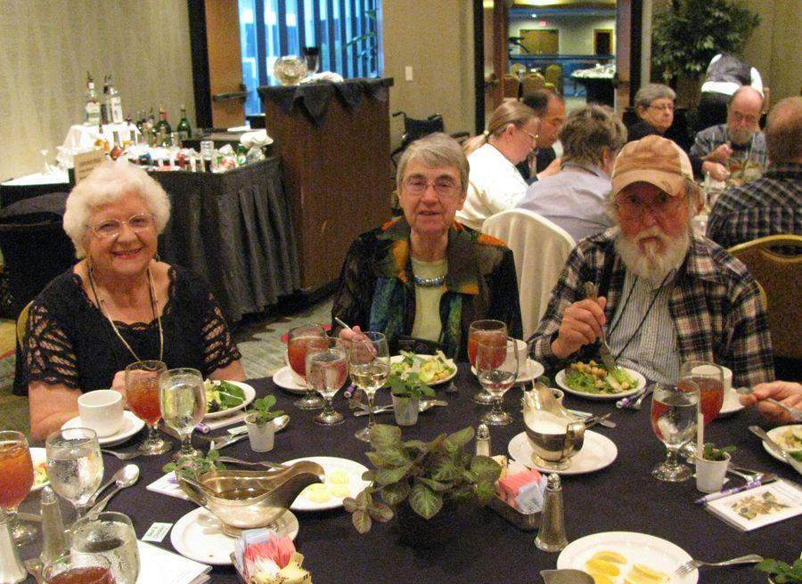 Doreen Hovermale, Sally Robinson, David Pierce