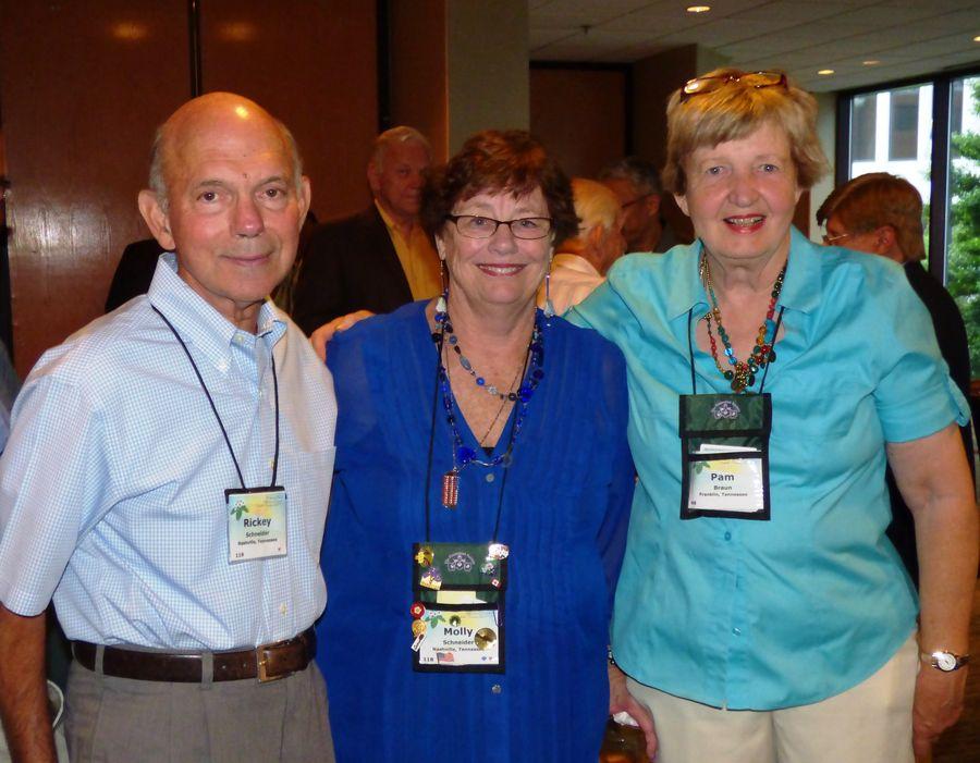 Rickey & Molly Schneider, Pam Braun