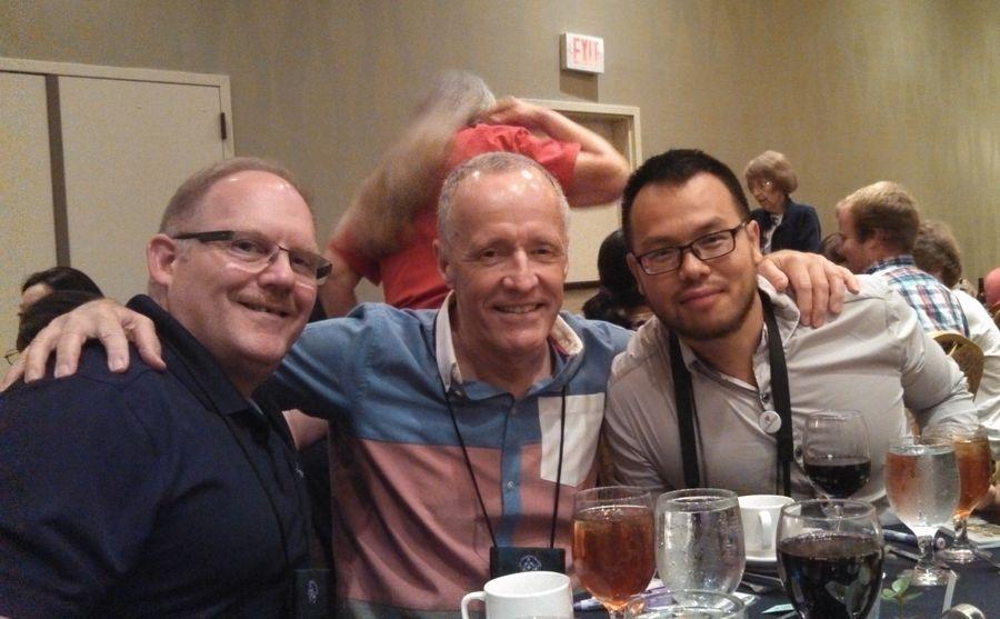 Winston Goretsky, Bill Price, Wen Fang