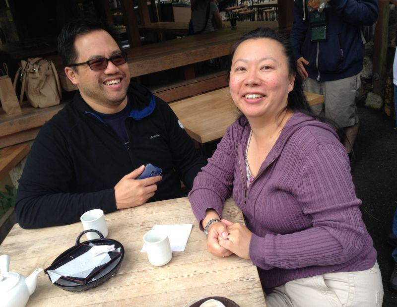 Tour Planners Tommy Liu and TehShan Lee