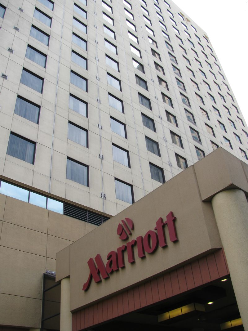 Our convention hotel – The Marriott Oakland City Center