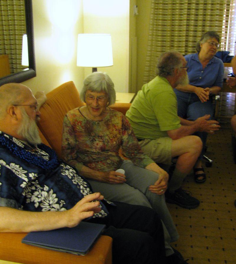 Informal gathering that evening