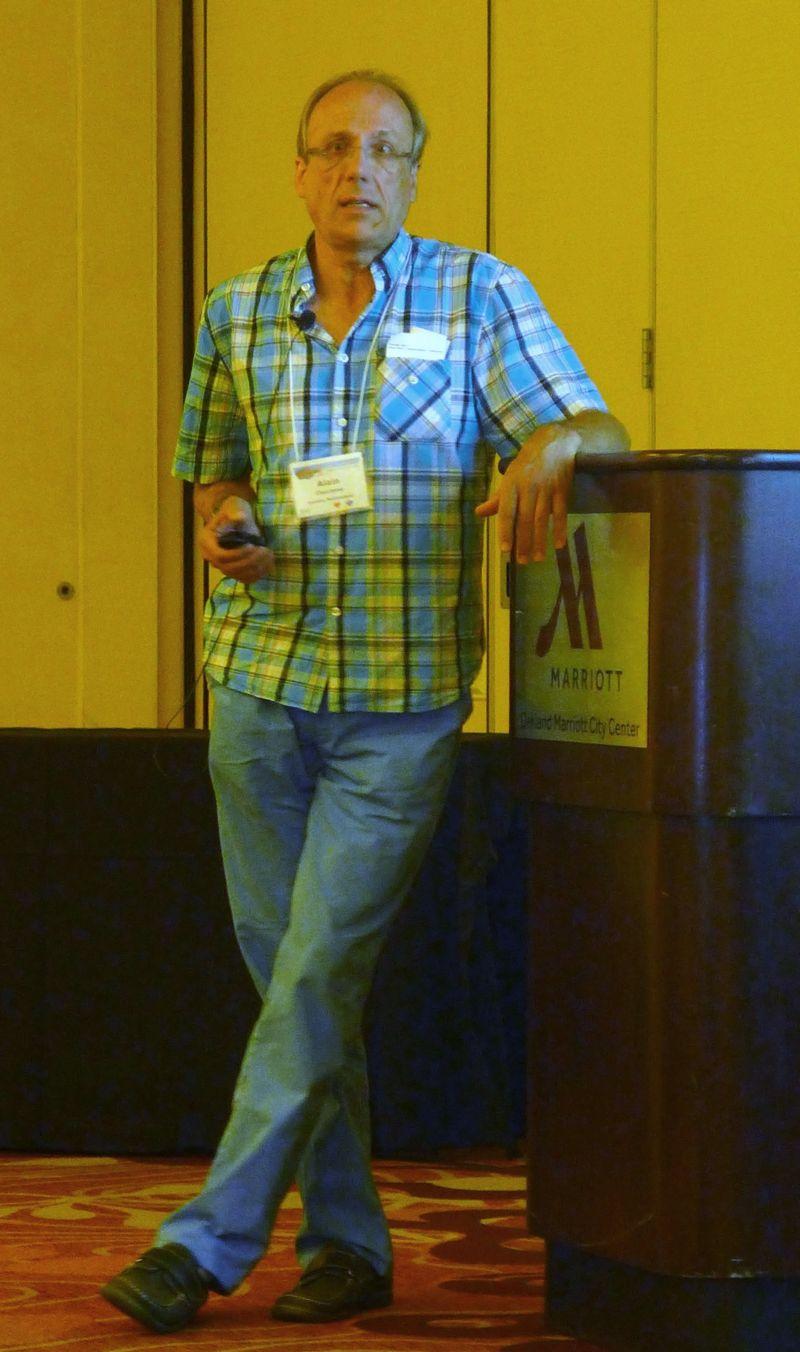 Alain Chautems presents his updates on Brazilian gesneriads