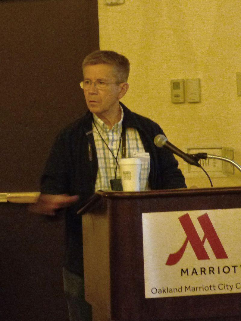 Conservation program host Stephen Maciejewski