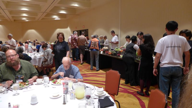 Dinner buffet before the Annual Meeting