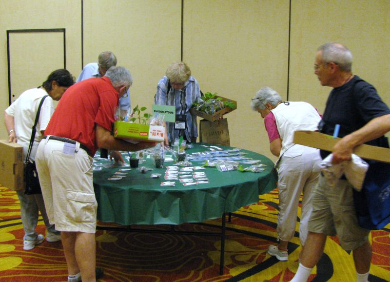 Attendees making their decisions on what to buy