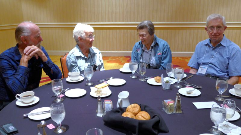 Gil and Joan Wood, Jacquie and Dennis Eisenhut