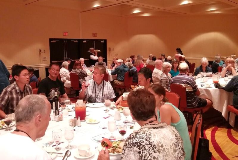 Attendees at the luncheon