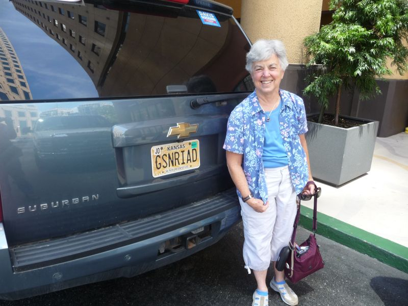 Susan Grose ready to leave convention