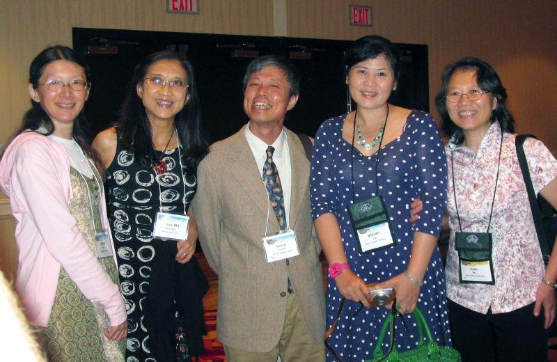 Dolly Yeh, Olive Robinson, Kenji Hirose, Vivian Liu, Lan Wu