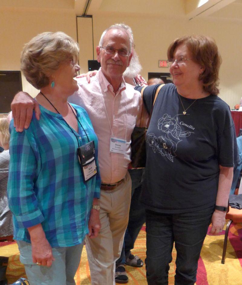 Barb and Steve Borleske, Mary Schaeffer