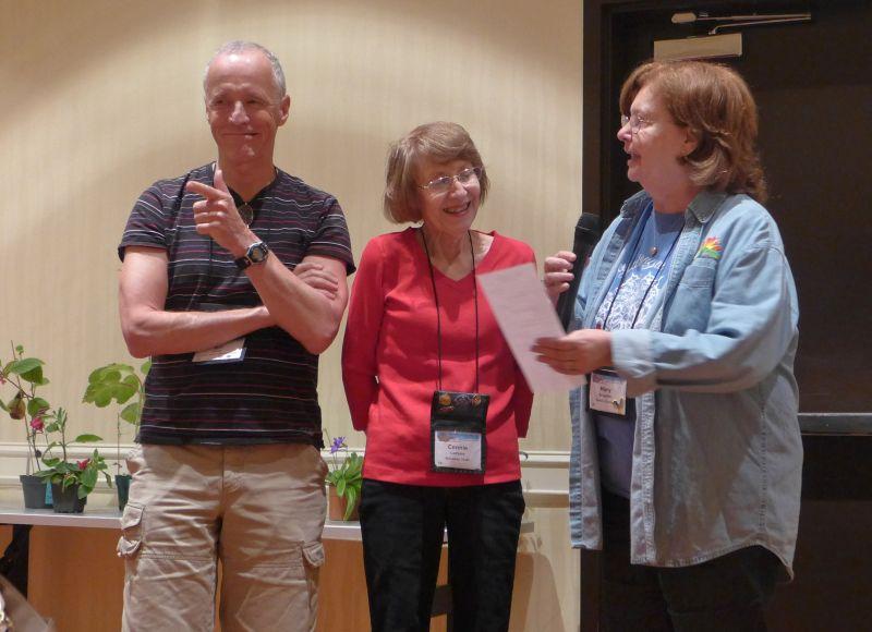 Bill Price, Connie Leifeste, Mary Schaeffer