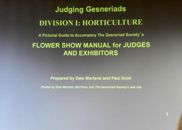 Judging School Workshop