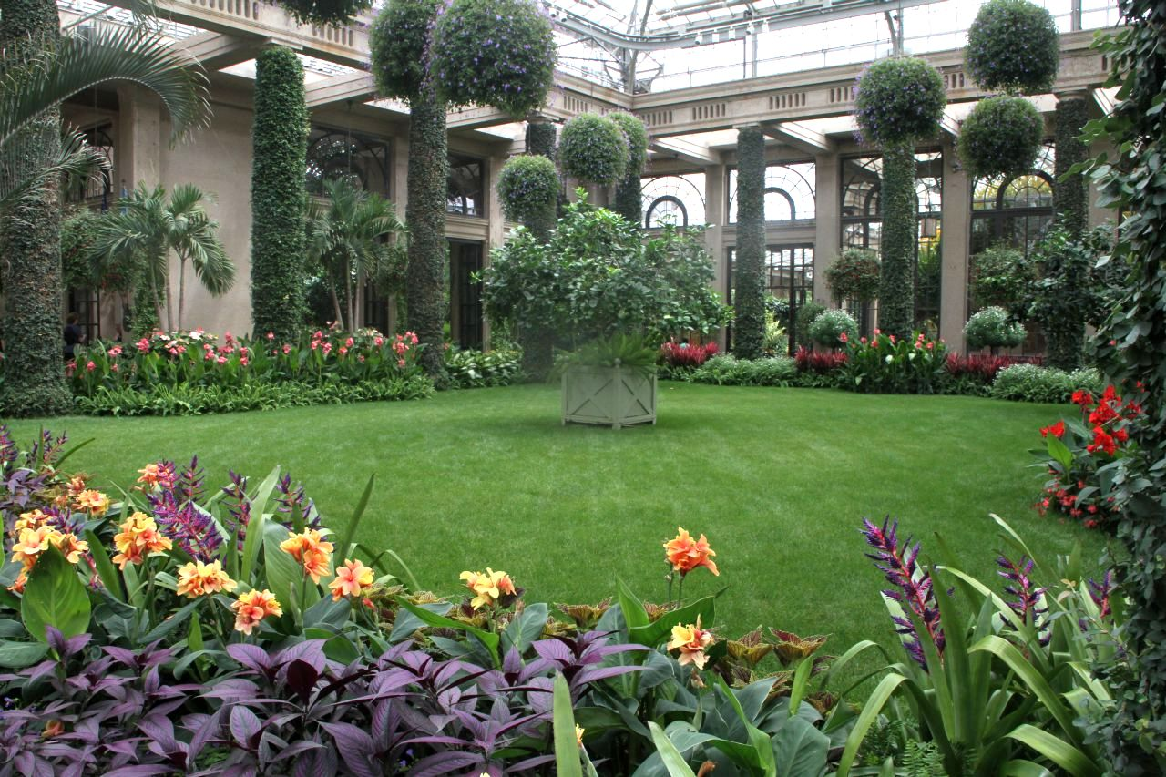 Inside the Longwood Conservatory