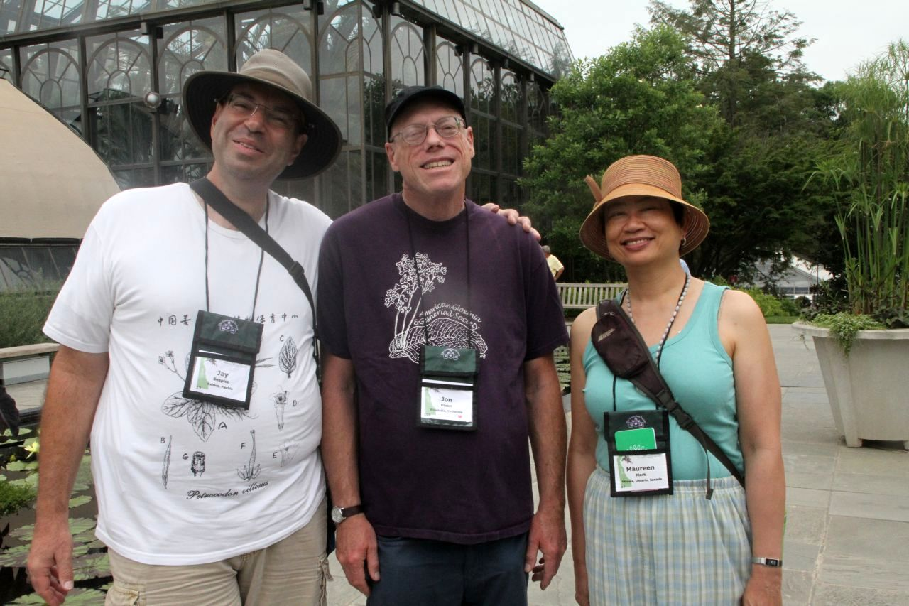 Jay Sespico, Jon Dixon and Maureen Mark