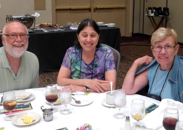 Paul Lee, Jo Anne Martinez and Gussie Farrice