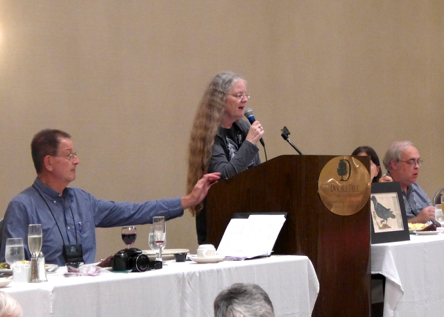 The Annual Membership Meeting presided over by President Julie Mavity-Hudson