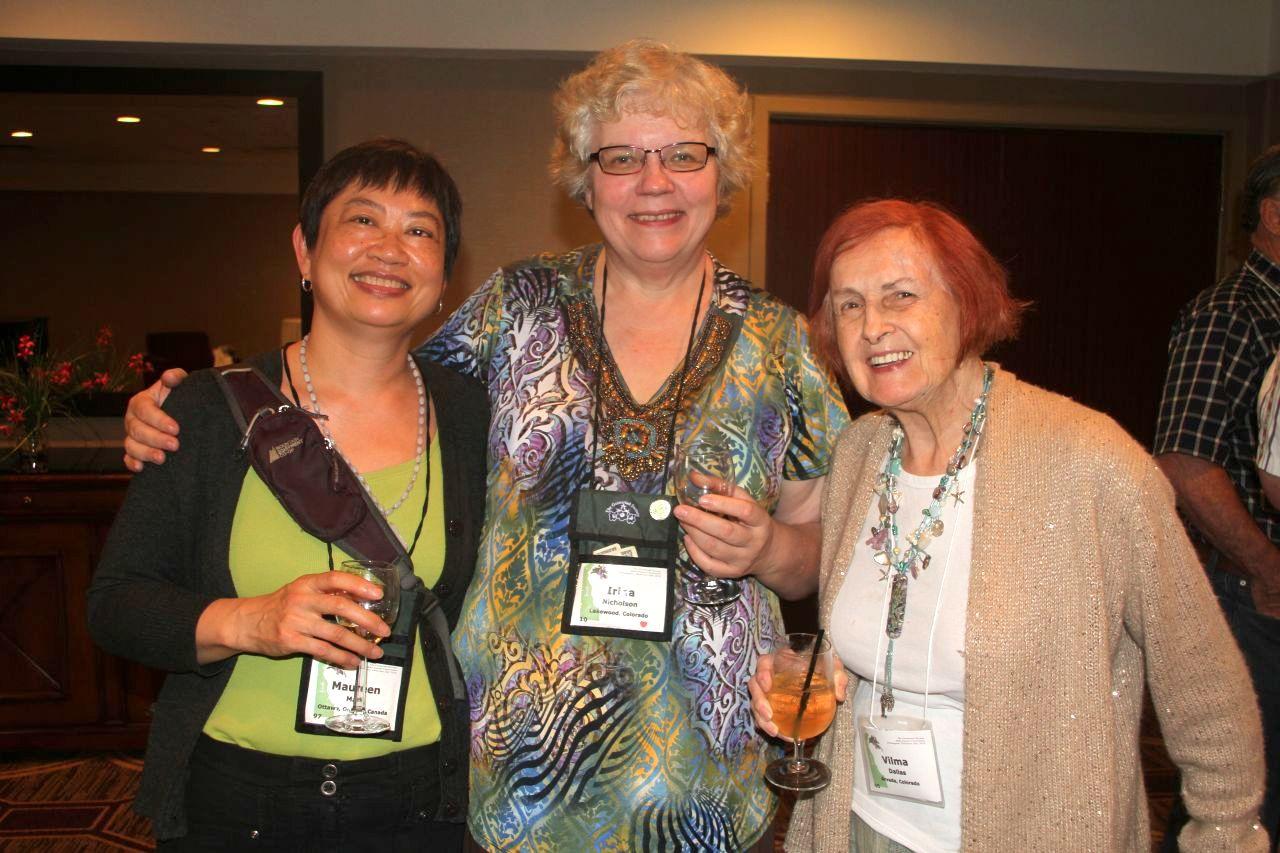 Maureen Mark, Irina Nicholson and Vilma Dalllas