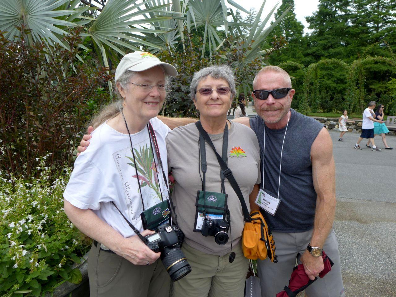 Julie Mavity-Hudson, Carol Ann Bonner and Randy Baron