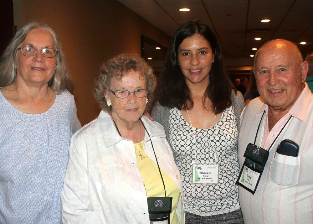 Jeanne Katzenstein, Nancy Kast, Marcela Mora and Jerry Kast