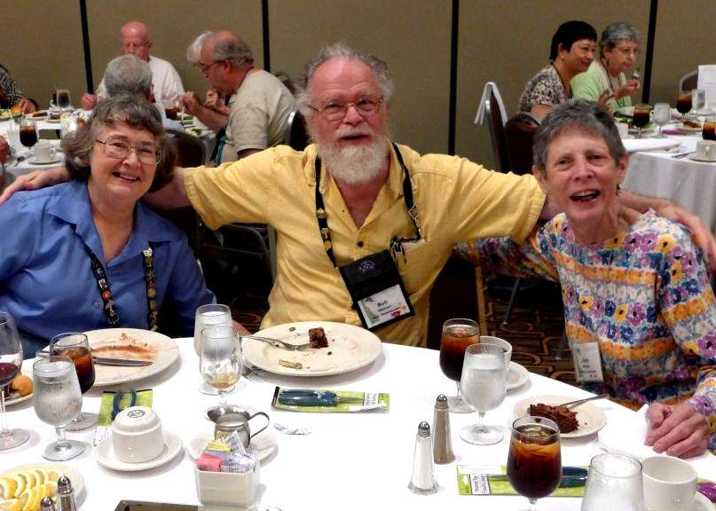 Dee and Bob Stewart and Judy Becker