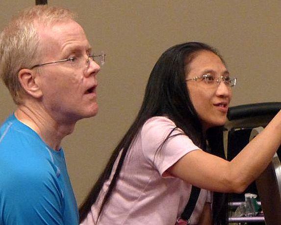 Rob and Olive Ma Robinson