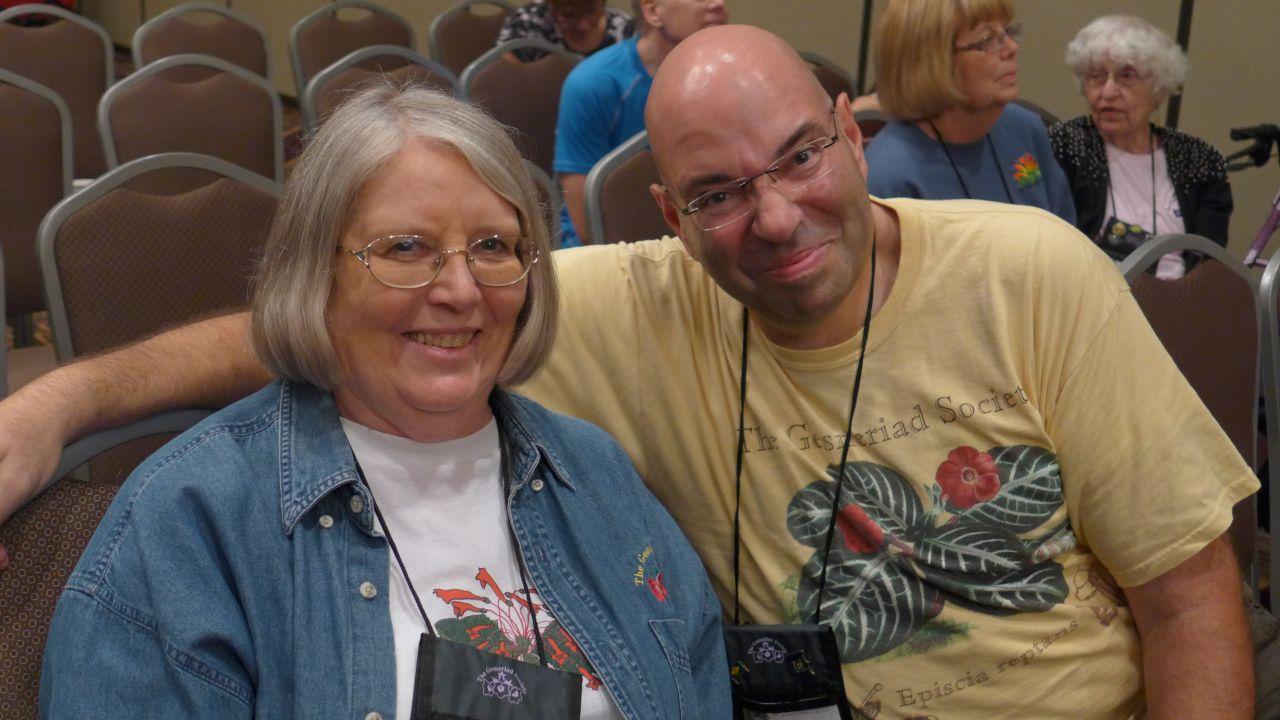 Nancy Moerer and Jay Sespico