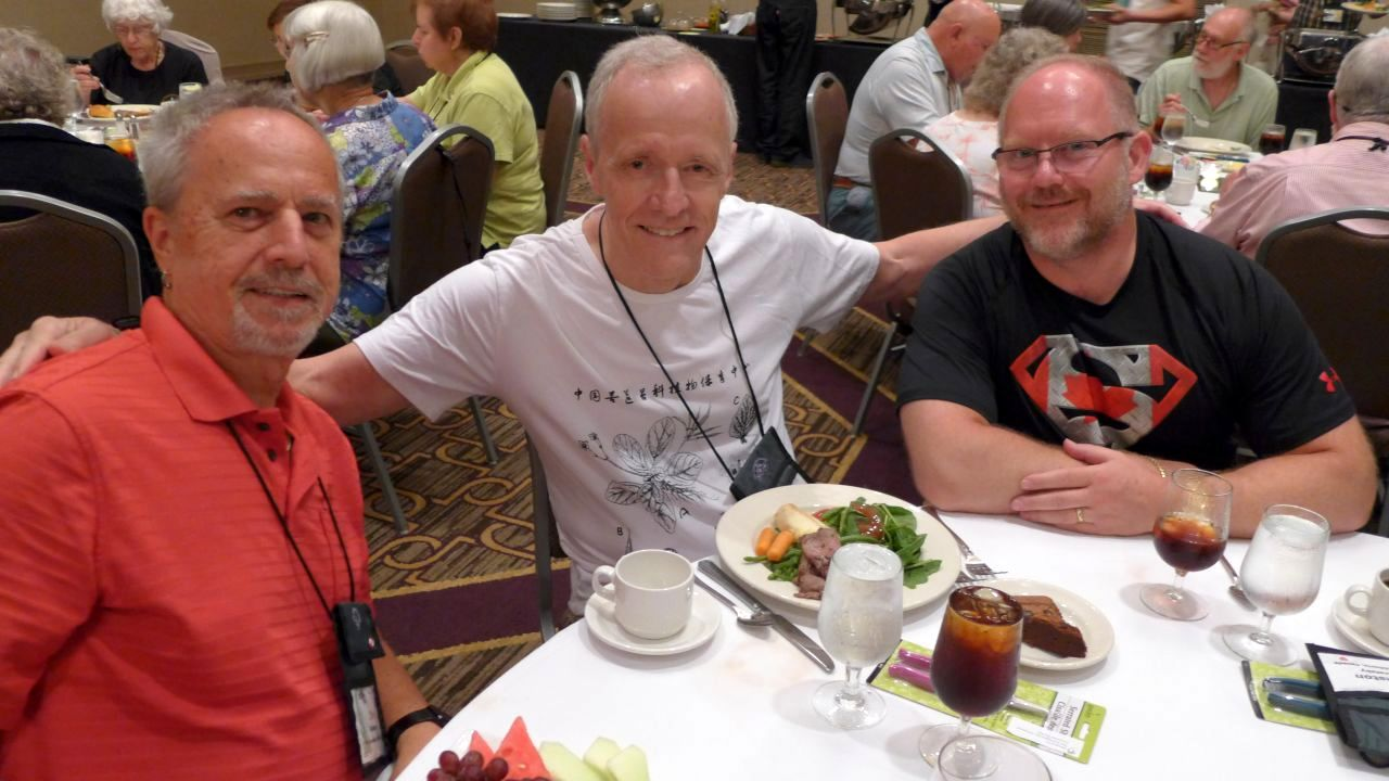 Jim Roberts, Bill Price and Winston Goretsky