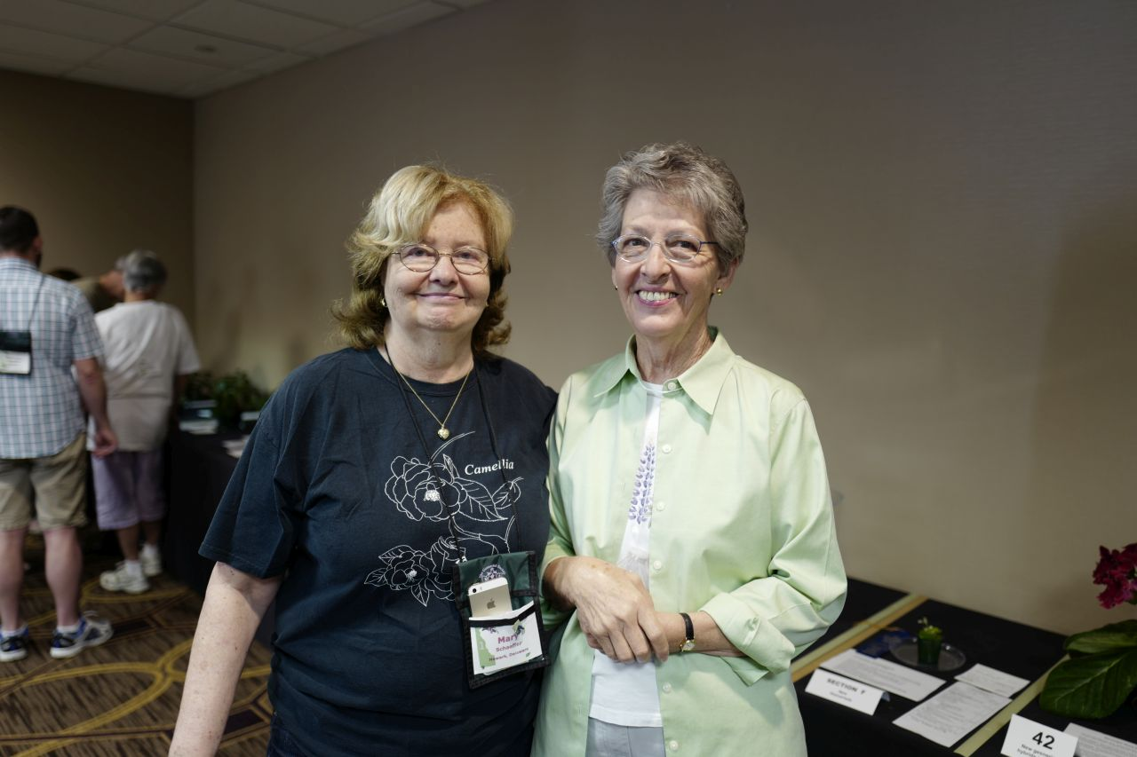 Mary Schaeffer and Bobbie LaFashia, Convention Treasurer