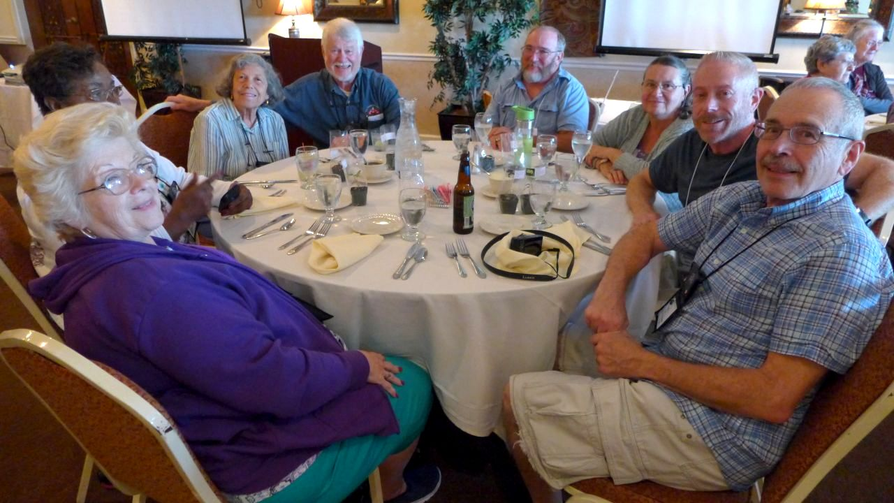 Kathy Spissman, Johnnie Berry, Carolyn Ripps, Mike Horton, Ronnie and Barbara Stewart, Randy Baron and Paul Susi