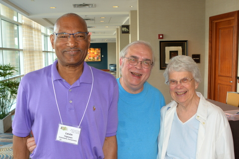 Levin Tilghman, Mel Grice (First VP), M J Tyler