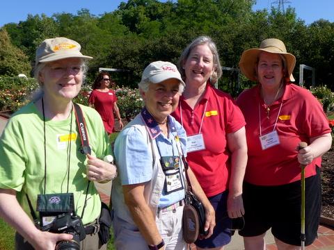 Julie Mavity-Hudson (President), Susan Grose, Pat & Phyllis Savage