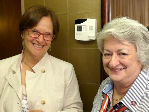 Mary Jo Modica and Mary Helen Maran