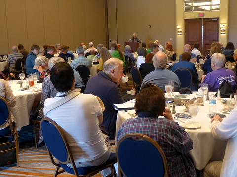 Luncheon honoring chapters and affiliates