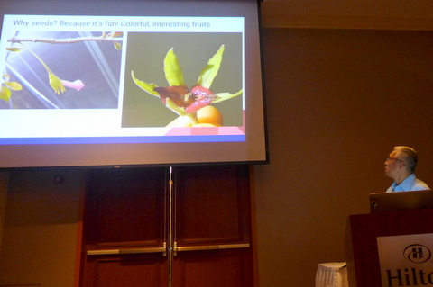 """Hung Nguyen presenting """"Gesneriad Seed Production"""""""