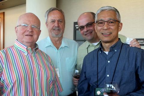 Paul Kroll, Jim Roberts, Paulo Castello da Costa, Hung Nguyen
