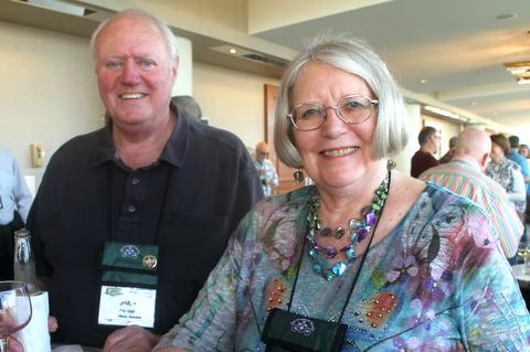 John Daniel and Table Favors Chair Nancy Moerer