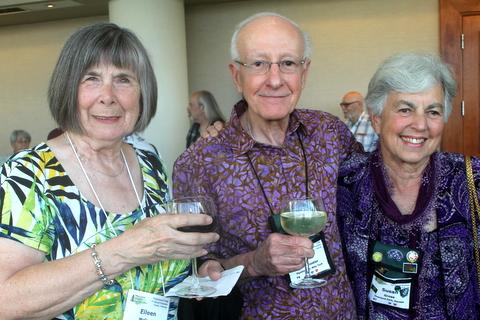 Eileen McGrath, Ben Paternoster and Susan Grose