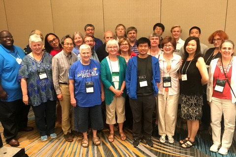 Some of the 47 first-time attendees, many of whom we hope to see again next year in Massachusetts
