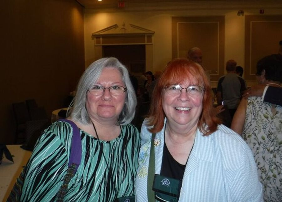 Karen Allen and Dale Martens