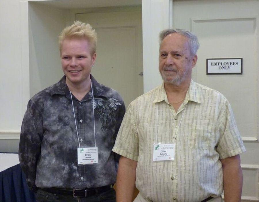 Speakers Drew Norris and Jim Roberts