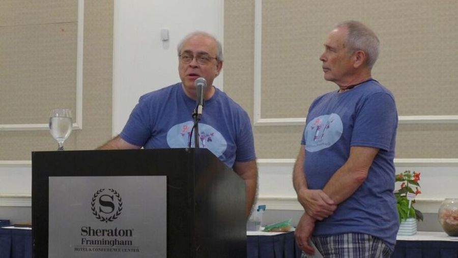 Mel Grice and Paul Susi, Convention 2019 Co-Chairs