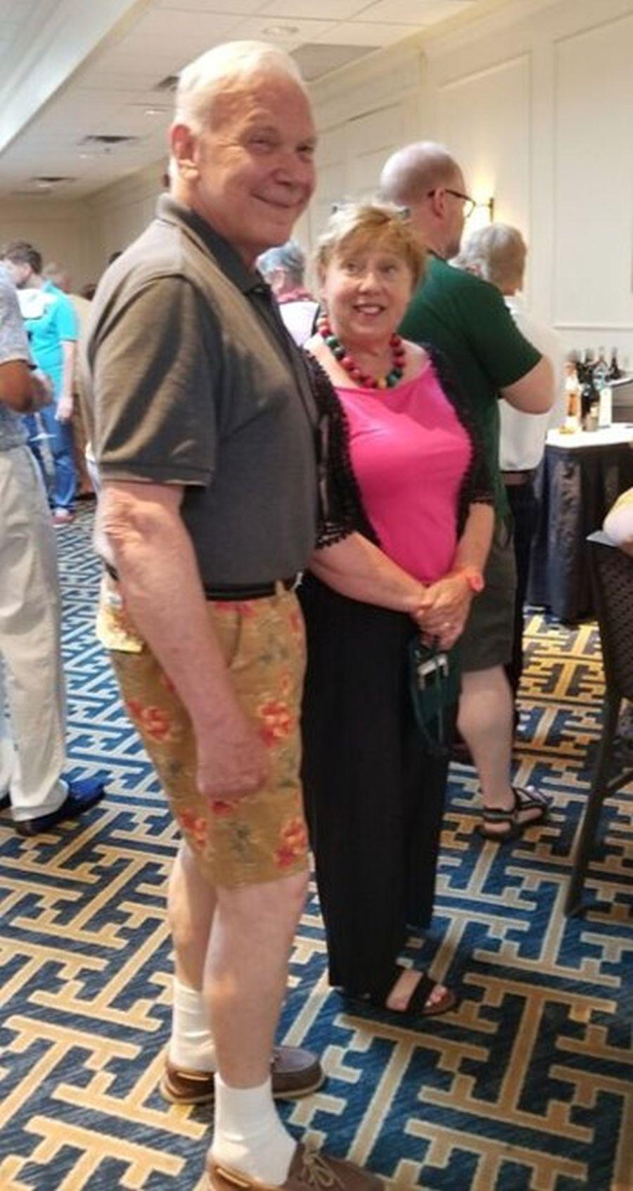 Michael Riley and Betsy Szymczak