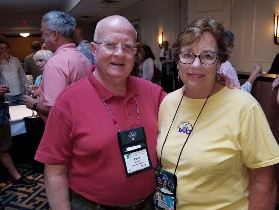 Paul Kroll and Molly Schneider