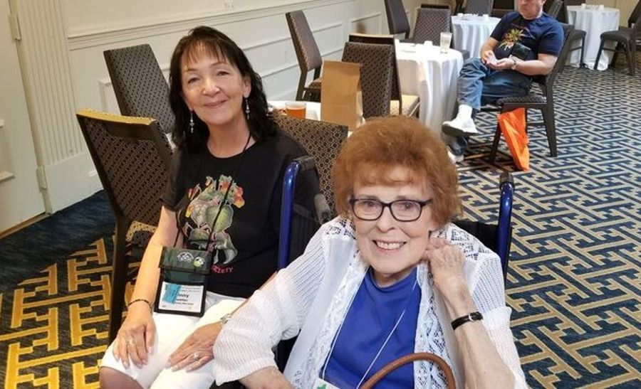 Ginny Heatter and Dolores Reed